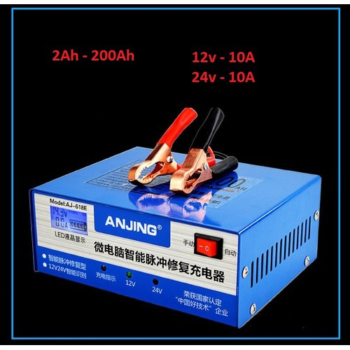 Máy sạc acquy tự động nhận bình 12 - 24v 2Ah đến 200Ah hiển thị LCD, Sạc ắc quy -Sạc có tạo xung khử sunfat - 11304934 , 16252304 , 15_16252304 , 445000 , May-sac-acquy-tu-dong-nhan-binh-12-24v-2Ah-den-200Ah-hien-thi-LCD-Sac-ac-quy-Sac-co-tao-xung-khu-sunfat-15_16252304 , sendo.vn , Máy sạc acquy tự động nhận bình 12 - 24v 2Ah đến 200Ah hiển thị LCD, Sạc ắc