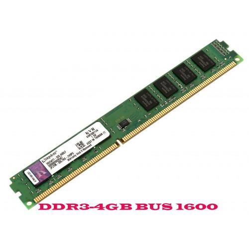 RAM máy PC Kington 4GB DDR3 Bus 1600 -ko kén Main-CHÍNH HÃNG