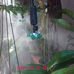 Bộ tưới lan tự động 15m2 có tủ chống nước mưa - có hẹn giờ