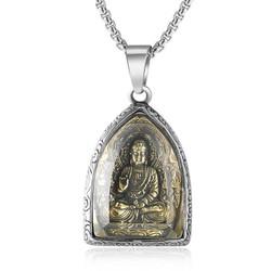 Dây Chuyền Mặt Phật Titan Không Rỉ TT 1790
