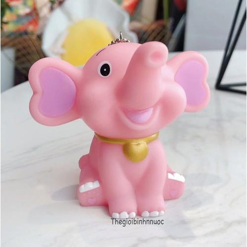 Móc Khóa Voi Hồng Cute K180