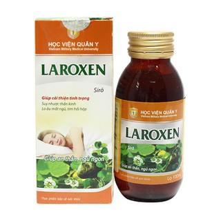 Siro Thảo Dược trị mất ngủ LAROXEN Giúp An Thần Ngủ Ngon 100ml - laroxen thumbnail