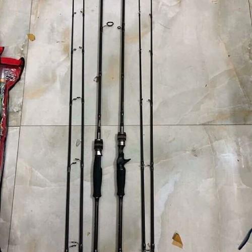 Cần câu lure Shimano Hunting Black 2m4 2 ngọn