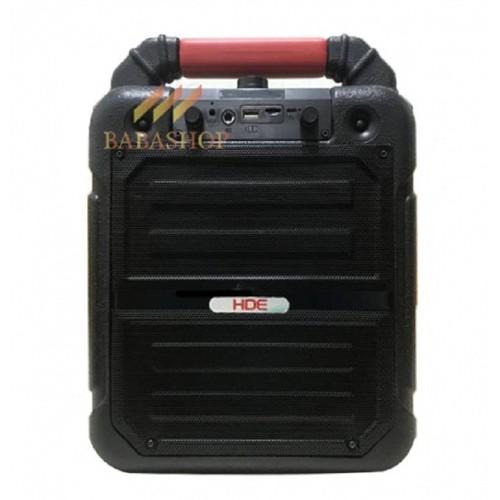 Loa karaoke mini giá rẻ HDE CYW-605 nghe nhạc hát hay tặng 1 micro