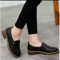 Giày Lười Da Phong Cách CHÂU ÂU