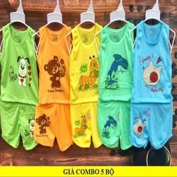 quần áo trẻ em combo5bộ - QATE16