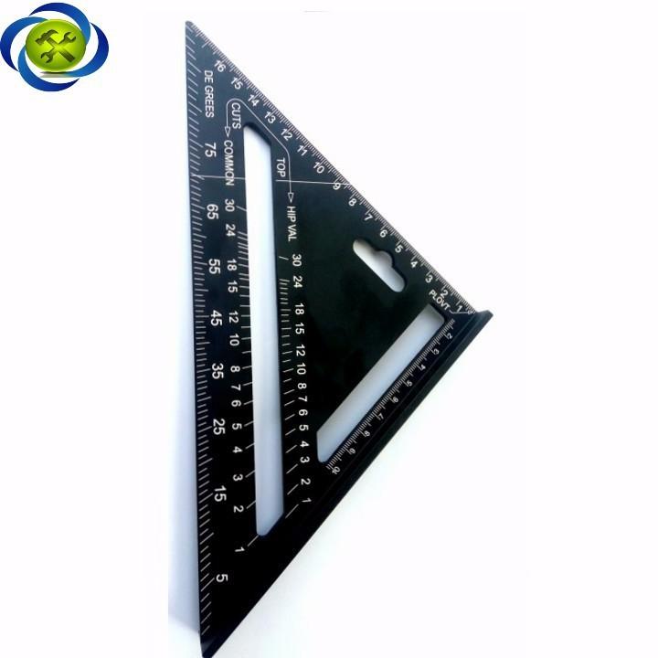 Thước tam giác nhôm đen 185mm x 185mm x 260mm A10D04 4