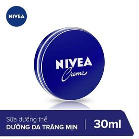 Kem dưỡng ẩm da Nivea Creme 30ml _ 80101 - 4005808708635