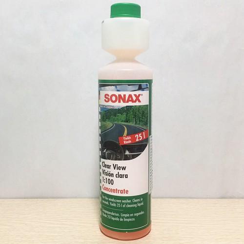 Nước Rửa Kính Đậm Đặc Sonax Clear View 1:100 Concentrate 250ml