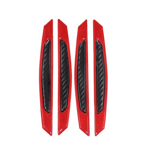 Nẹp chống va đập phản quang FQ112: Mầu Đỏ - Đen