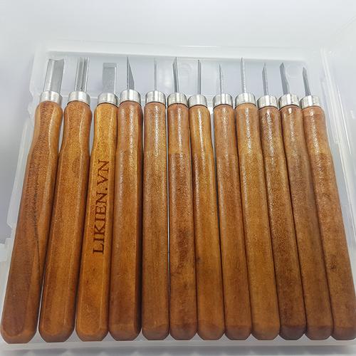 Bộ 12 dao khắc gỗ LCE9053