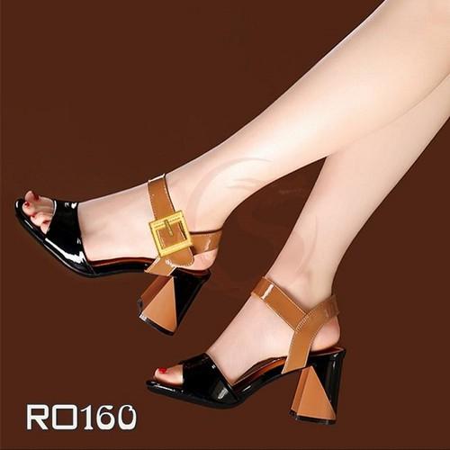 Giày cao gót hở mũi nữ đẹp phối màu nữ tính hàng hiệu rosata-ro160 - 4532623 , 16273320 , 15_16273320 , 700000 , Giay-cao-got-ho-mui-nu-dep-phoi-mau-nu-tinh-hang-hieu-rosata-ro160-15_16273320 , sendo.vn , Giày cao gót hở mũi nữ đẹp phối màu nữ tính hàng hiệu rosata-ro160