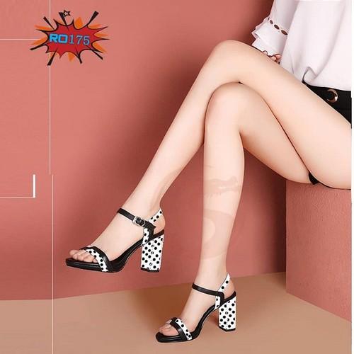 Giày sandal cao gót nữ đẹp chấm bi hàng hiệu rosata-ro175 - 4699692 , 16284041 , 15_16284041 , 700000 , Giay-sandal-cao-got-nu-dep-cham-bi-hang-hieu-rosata-ro175-15_16284041 , sendo.vn , Giày sandal cao gót nữ đẹp chấm bi hàng hiệu rosata-ro175