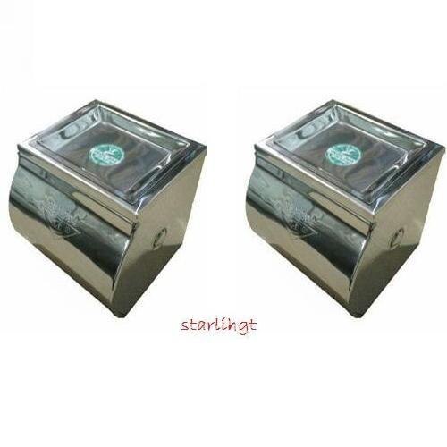 Hộp đựng giấy vệ sinh, inox 304 cao cấp có khay để điện thoại hoặc gạt tàn - phụ kiện nhà tắm - thiết bị vệ sinh -new - 11205971 , 16274644 , 15_16274644 , 629000 , Hop-dung-giay-ve-sinh-inox-304-cao-cap-co-khay-de-dien-thoai-hoac-gat-tan-phu-kien-nha-tam-thiet-bi-ve-sinh-new-15_16274644 , sendo.vn , Hộp đựng giấy vệ sinh, inox 304 cao cấp có khay để điện thoại hoặc g