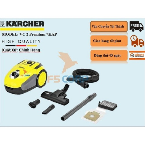Máy hút bụi Karcher VC 2 *KAP - 11313370 , 16271852 , 15_16271852 , 2511000 , May-hut-bui-Karcher-VC-2-KAP-15_16271852 , sendo.vn , Máy hút bụi Karcher VC 2 *KAP
