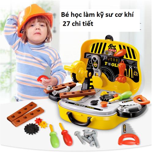 Đồ chơi bé trai bộ dụng cụ kỹ sư đồ chơi kỹ sư có ảnh thật IZI Toys