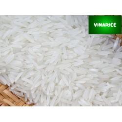 Gạo Jasmine 85 5kg - gạo trắng hạt dài dẻo nhiều -  túi PP trắng trơn 5kg