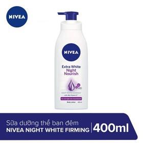 Sữa dưỡng thể giúp săn da, dưỡng trắng Nivea ban đêm 400ml _ 88126 - 4005808355754