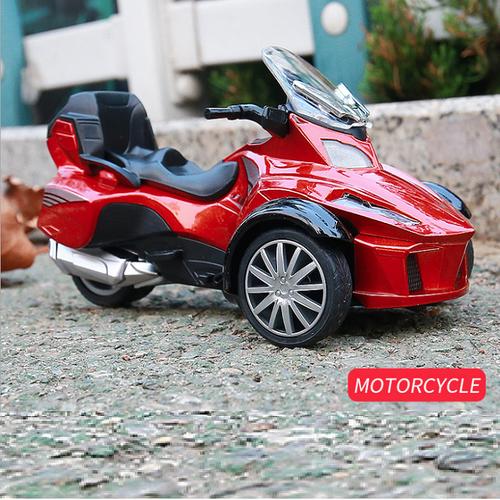 Mô hình Xe mô tô 3 bánh đồ chơi trẻ em bằng kim loại tỉ lệ 1:32 xe chạy cót có âm thanh và đèn - 6130354 , 16285047 , 15_16285047 , 269000 , Mo-hinh-Xe-mo-to-3-banh-do-choi-tre-em-bang-kim-loai-ti-le-132-xe-chay-cot-co-am-thanh-va-den-15_16285047 , sendo.vn , Mô hình Xe mô tô 3 bánh đồ chơi trẻ em bằng kim loại tỉ lệ 1:32 xe chạy cót có âm thanh