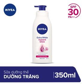 Sữa Dưỡng Thể Dưỡng Trắng Da Nivea Instant White SPF30 350ml _ 88320 - 4005900469977
