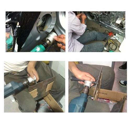bộ chuyển đổi máy khoan thành máy cắt tôn QKL3335