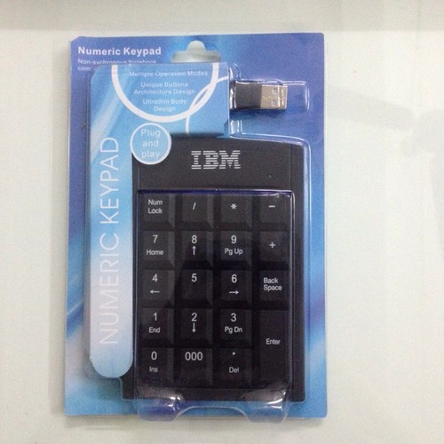 Bàn phím số máy tính IBM Mini Tiện Dụng - 6129400 , 16284459 , 15_16284459 , 120000 , Ban-phim-so-may-tinh-IBM-Mini-Tien-Dung-15_16284459 , sendo.vn , Bàn phím số máy tính IBM Mini Tiện Dụng