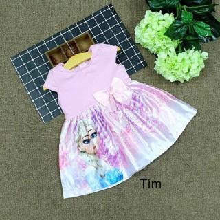 Váy Đầm Bé Gái Elsa đầm elsa cho bé gái Đầm Công Chúa cho bé gái Size 2 - đầm bé gái công chúa elsa thumbnail