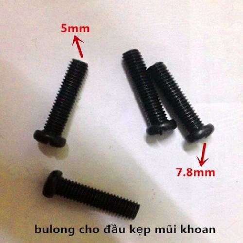 Bộ 10 bulong cho đầu kẹp mũi khoan 5mm - 11315880 , 16277936 , 15_16277936 , 39000 , Bo-10-bulong-cho-dau-kep-mui-khoan-5mm-15_16277936 , sendo.vn , Bộ 10 bulong cho đầu kẹp mũi khoan 5mm