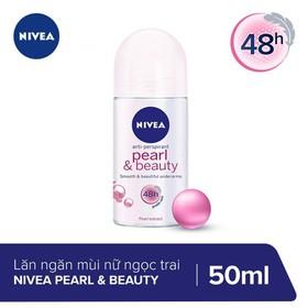 Lăn Ngăn Mùi Ngọc Trai Đẹp Quyến Rũ Nivea Pearl & Beauty 50ml _ 83735 - 4005808837359