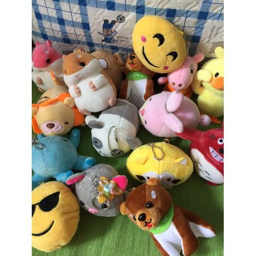 Bộ 3 móc khóa thú bông xiu cute dễ thương – móc khóa gấu bông - 6120800 , 16279912 , 15_16279912 , 92000 , Bo-3-moc-khoa-thu-bong-xiu-cute-de-thuong-moc-khoa-gau-bong-15_16279912 , sendo.vn , Bộ 3 móc khóa thú bông xiu cute dễ thương – móc khóa gấu bông
