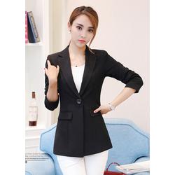 Áo vest Blazer nữ ANN86 màu đen hàng nhập
