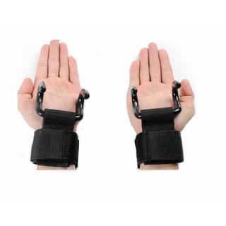 Đai quấn cổ tay có móc sắt nâng đòn tạ-1 đôi - IfitMocSatG95 thumbnail