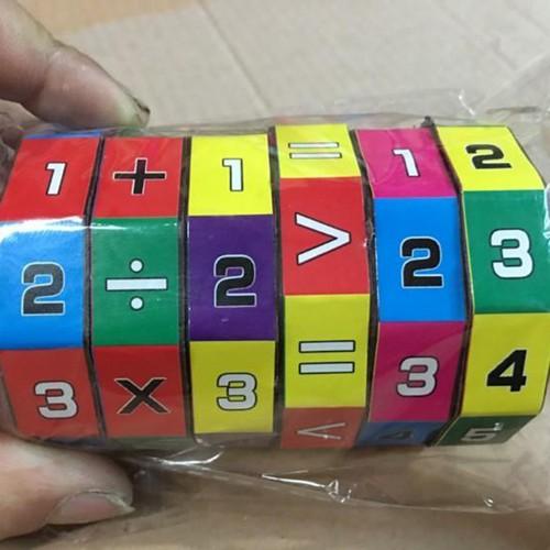 Khối rubic toán học cho bé thông minh