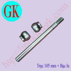 [5 bộ] Trục bạc quạt tản zen thuận - bạc lu - trục bạc quạt