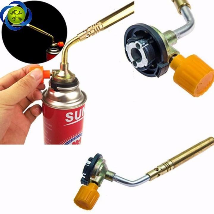 Khò gas 1 ống 3 cây đồng KT-2104 3