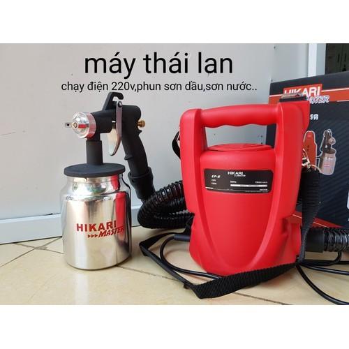 Máy phun sơn cầm tay Thái Lan Hikari - 6153919 , 16301022 , 15_16301022 , 950000 , May-phun-son-cam-tay-Thai-Lan-Hikari-15_16301022 , sendo.vn , Máy phun sơn cầm tay Thái Lan Hikari