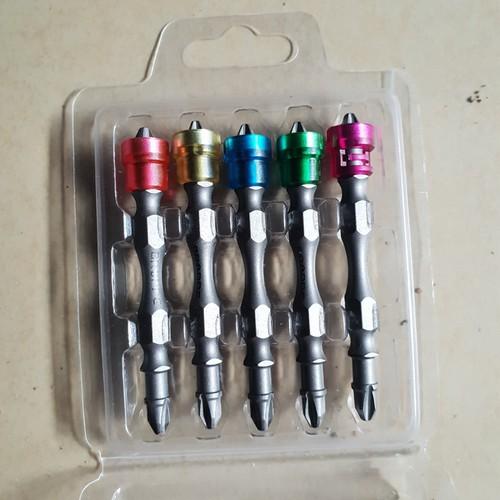 Bộ 5 mũi bắt vít 2 đầu tới hạn từ tính BROPPE dài 65mm - 6140300 , 16292038 , 15_16292038 , 135000 , Bo-5-mui-bat-vit-2-dau-toi-han-tu-tinh-BROPPE-dai-65mm-15_16292038 , sendo.vn , Bộ 5 mũi bắt vít 2 đầu tới hạn từ tính BROPPE dài 65mm
