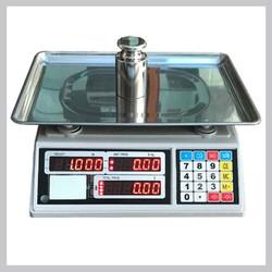 Cân điện tử tính giá , 30 kg -10g , cân và tính tiền, trừ bì, cộng dồn, tính tiền thừa, dễ quan sát và di chuyển, phù hợp cho hộ kinh doanh thực phẩm