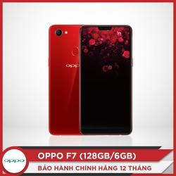 OPPO F7 128GB - Hàng chính hãng - Tặng tai nghe bluetooth LE907 trị giá 600K.