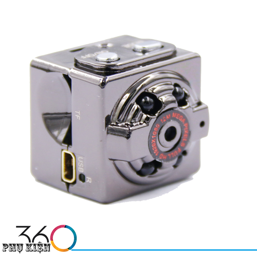 Camera Hành Trình Trên Ô TÔ Mini SQ8 DV 1080P