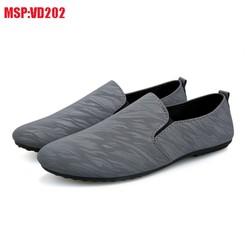 Giày Lười Nam Thể Thao Vải Thoáng Khí Giá Ré Siêu Nhẹ GTT08