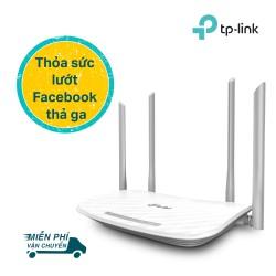 TP-Link Bộ phát Wifi Băng tần kép Chuẩn AC 1200Mbps mạnh mẽ cho vùng phủ xa - Archer C50 -Hãng phân phối chính thức