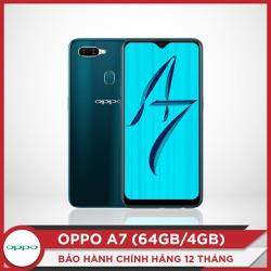 OPPO A7 - Tặng tai nghe bluetooth cao cấp LE907 - Hàng chính hãng