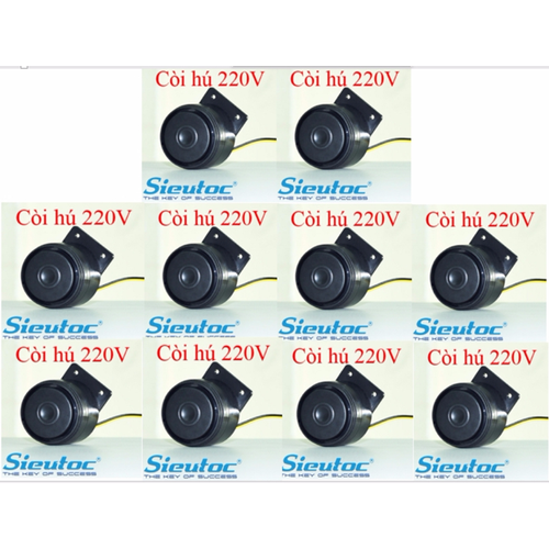Bộ 10 còi hú 220V báo động báo trộm AL02-AL02
