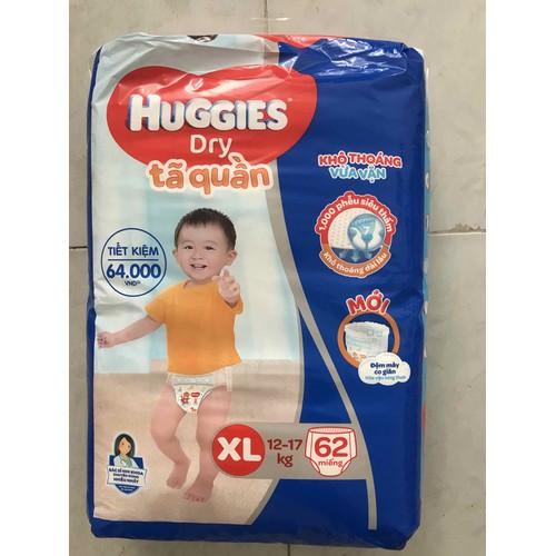 Tã quần Huggies size XL62