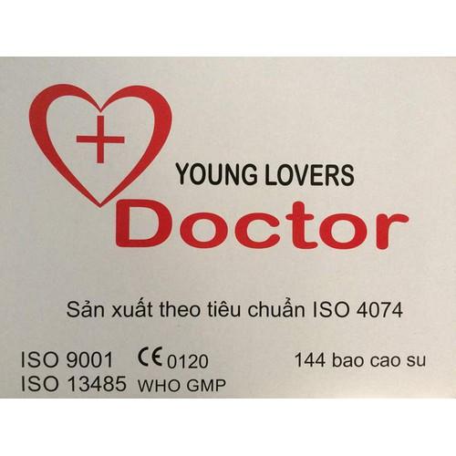 Bao cao su khách sạn Young lovers doctor hộp 144 cái giá sỉ