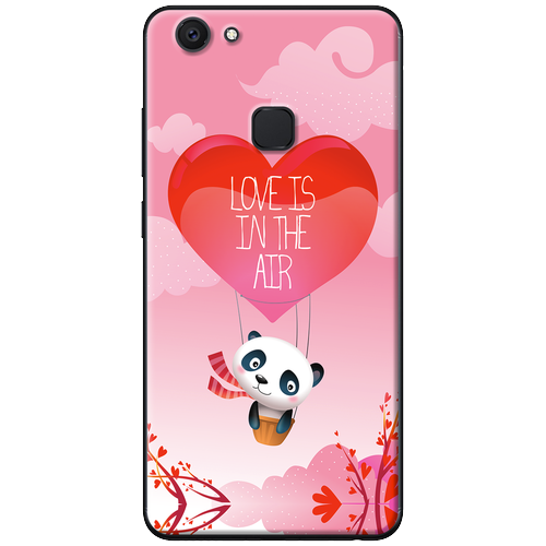 Ốp lưng nhựa dẻo Vivo V7 Plus Love Panda Mã SP: VVV7P-LPD - giá tốt