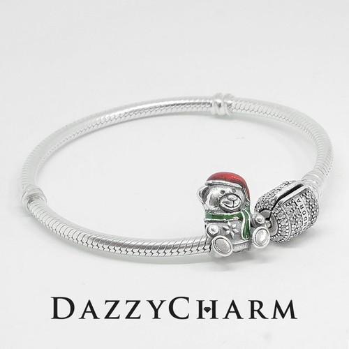 Set vòng DazzyCharm gấu đeo khăn