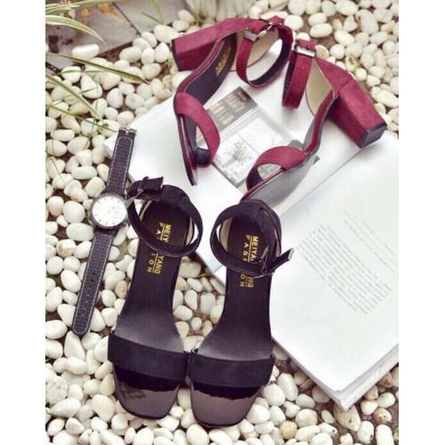 Giày sandanl nữ cao gót