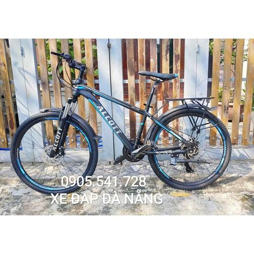 Xe đạp địa hình MT02 màu xanh dương